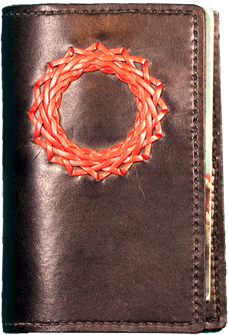 book cover with knot