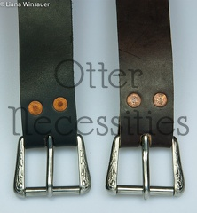"1-3/4"" Wide Buckled Belts"