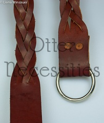 Braided Tied Belt Plain Ring